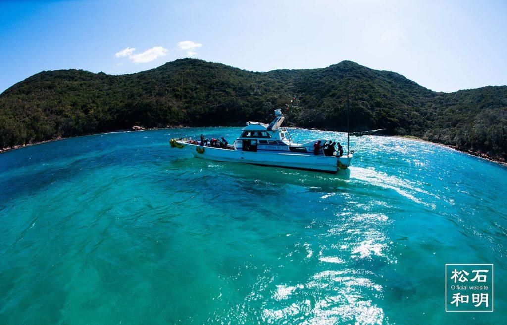 快適なダイビング船